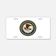 GOVERNMENR SEAL - DEPARTMEN Aluminum License Plate