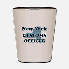 New York Customs Officer Shot Glass