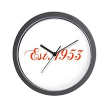 Cool Humorous 55th birthday Wall Clock