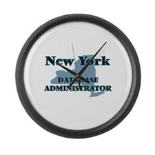 New York Database Administrator Large Wall Clock