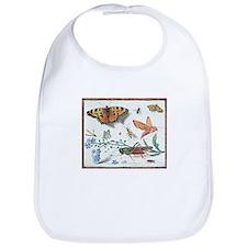 Butterflies & Grasshopper Bib