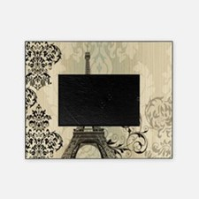 shabby chic swirls eiffel tower pari Picture Frame