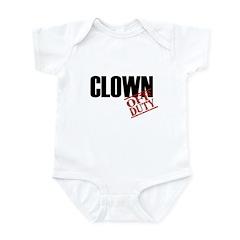 Off Duty Clown Infant Bodysuit