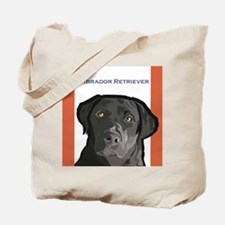 Cute Labrador retriever tote Tote Bag