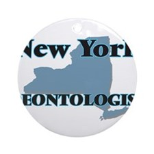 New York Deontologist Round Ornament