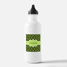 Neon Green Trellis Per Water Bottle