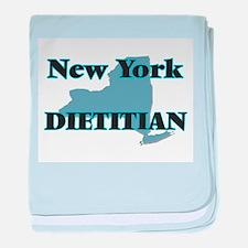New York Dietitian baby blanket