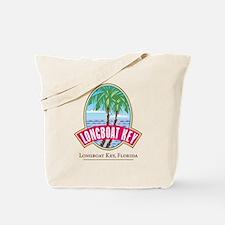 Longboat Key Oval - Tote or Beach Bag