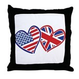 British Throw Pillows