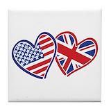 British Tile Coasters
