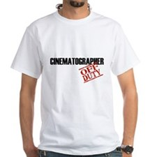 Off Duty Cinematographer Shirt