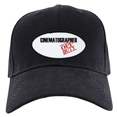 Off Duty Cinematographer Baseball Hat