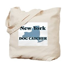 New York Dog Catcher Tote Bag