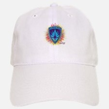 GOTG Logo Neon Splat Baseball Baseball Cap