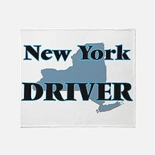 New York Driver Throw Blanket