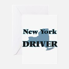 New York Driver Greeting Cards