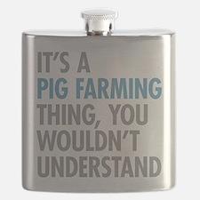 Pig Farming Thing Flask