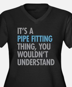 Pipe Fitting Thing Plus Size T-Shirt