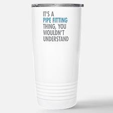 Pipe Fitting Thing Stainless Steel Travel Mug