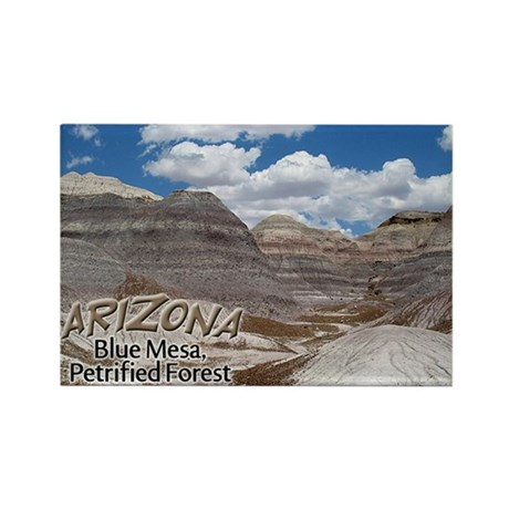 Arizona Blue Mesa Rectangle Magnet