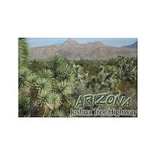 Arizona Joshua Tree Highway (v1) Rectangle Magnet