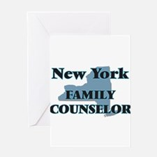 New York Family Counselor Greeting Cards