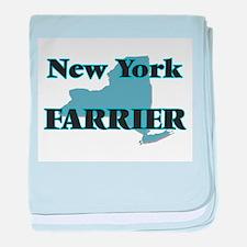 New York Farrier baby blanket