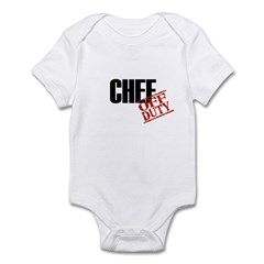 Off Duty Chef Infant Bodysuit