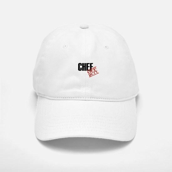 Off Duty Chef Baseball Baseball Cap
