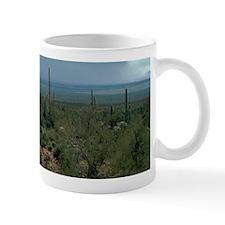 Arizona Desert and Cactuses Mugs