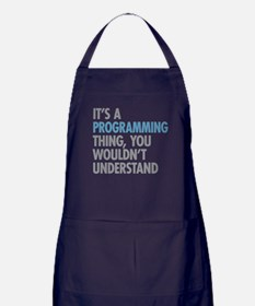 Programming Thing Apron (dark)