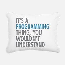 Programming Thing Rectangular Canvas Pillow