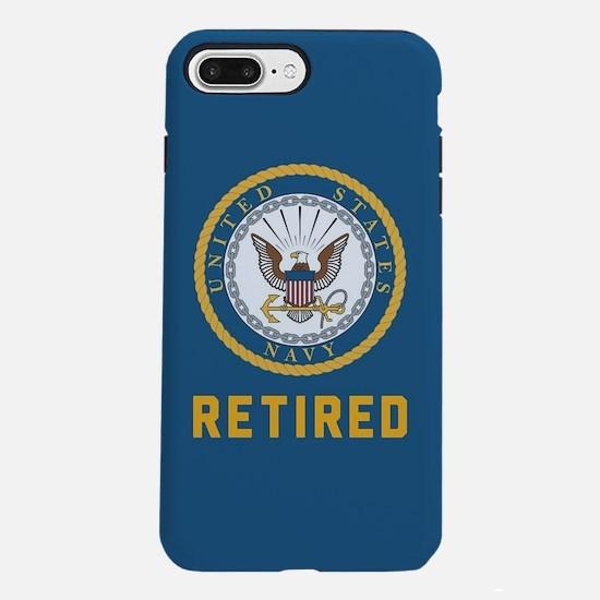 US Navy Retired iPhone 8/7 Plus Tough Case