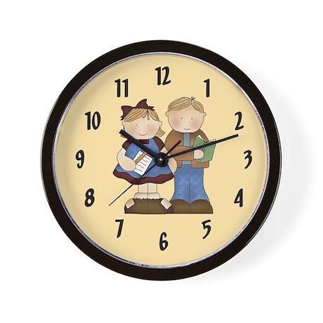 School Kids Wall Clock