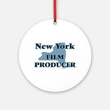New York Film Producer Round Ornament