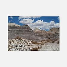 Arizona Blue Mesa Rectangle Magnet