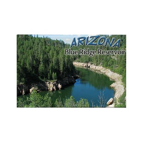 Arizona Blue Ridge Rectangle Magnet