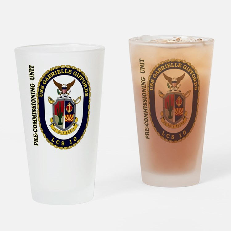 PCU Giffords LCS-10 Drinking Glass