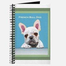 Cute French water dog Journal