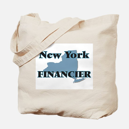 New York Financier Tote Bag