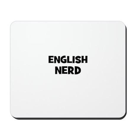 English Nerd Mousepad