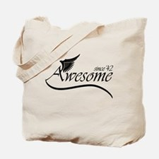 awesome since 1942 Tote Bag