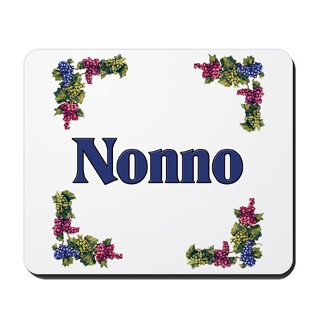 Nonno (Italian grandfather) Mousepad