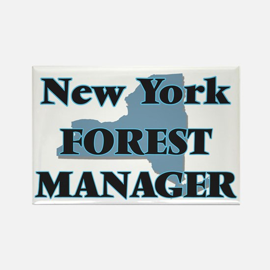 New York Forest Manager Magnets