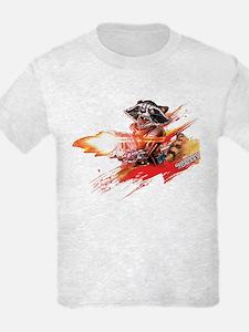 GOTG Rocket Slash T-Shirt