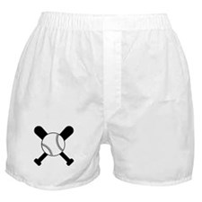 Baseball Bats & Ball Boxer Shorts