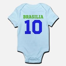 BRASILIA #10 Infant Bodysuit