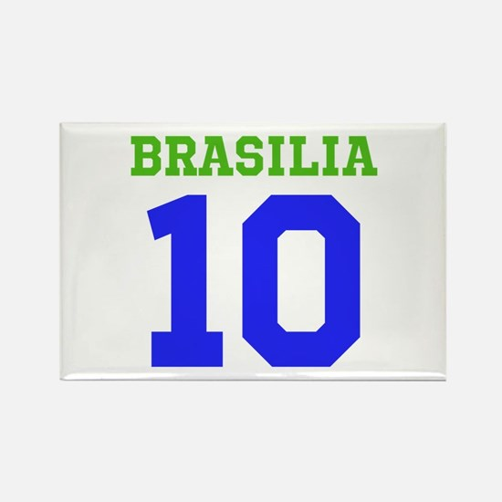 BRASILIA #10 Rectangle Magnet