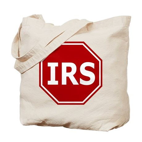 Stop The IRS Tote Bag