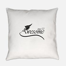 awesome since 1953 Everyday Pillow